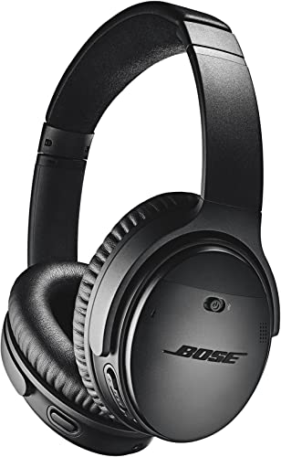 Bose QuietComfort 35 (Series II) Wireless Bluetooth Headphones, Noise Cancelling, Black