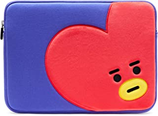 BT21 Official Merchandise by Line Friends - TATA 13 Inch Laptop Sleeve Case Compatible with MacBook, iPad Pro, and 13