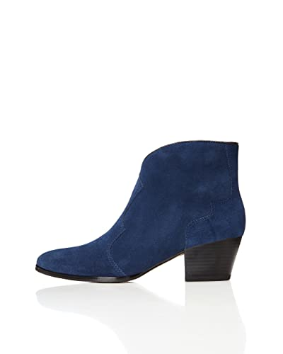 21126ea320559 Navy Blue Ankle Boots: Amazon.co.uk