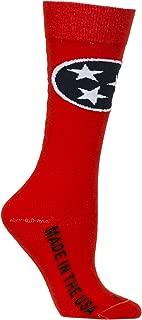 tennessee flag socks