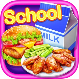 School Lunch Food!