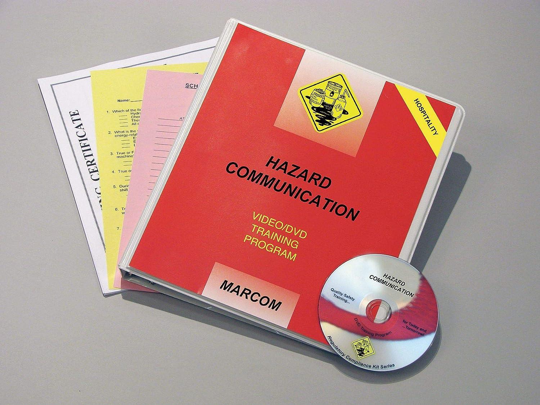 Classic Marcom Group V0001709SO Hazcom Hospitality Training Excellent Spanis DVD