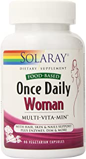 Solaray Once Daily Multivitamin Capsules for Woman, 90 Count