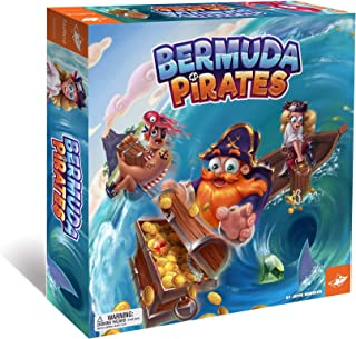 Foxmind, Bermuda Pirates Magnetic Board Game for Kids, Captivating Pirate Adventure for Family and Friends