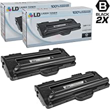 LD Compatible Toner Cartridge Replacement for Samsung ML-1710D3 (Black, 2-Pack)