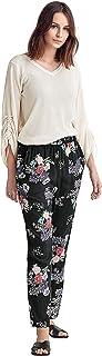 Ellos Women's Plus Size Woven Soft Pants
