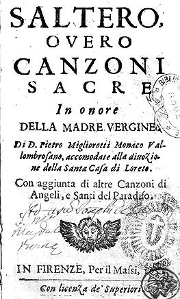 Saltero, Overo Canzoni Sacre in Onore Della Madre Vergine