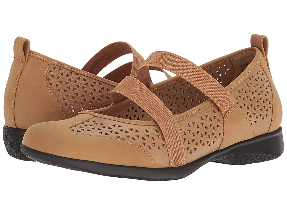Trotters Josie (Tan Embossed Leather) Women
