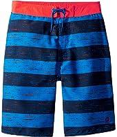 Thru Way Stripe E-Boardshorts (Little Kids/Big Kids)
