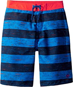 Thru Way Stripe E-Boardshorts (Little Kids/Big Kids)