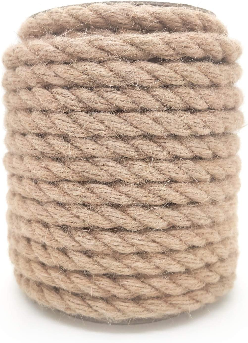 Jute Twine 10mm 60Feet Natural wholesale Rop Outdoor Our shop OFFers the best service Heavy Duty