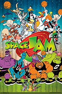 Trends International Space Jam-Classic Wall Poster, 22.375