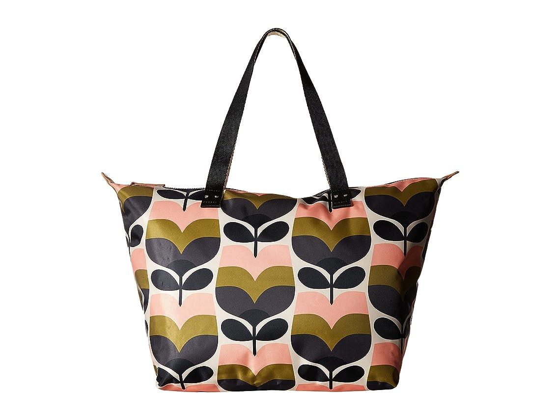忙しいソロ符号[オーラ カイリー] Orla Kiely レディース Stripe Rosebud Zip Shopper ハンドバッグ [並行輸入品]