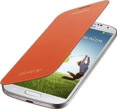 Samsung Galaxy S4 Flip Cover Folio Case (Orange)