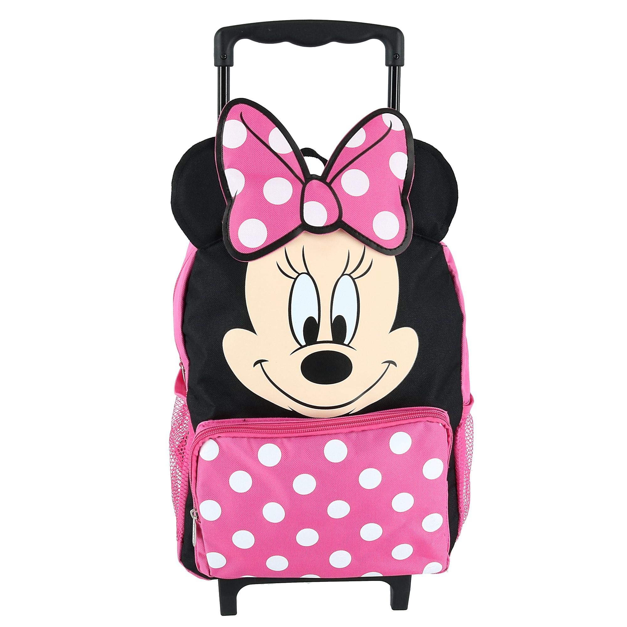 Minnie Mouse Softside Rolling Backpack