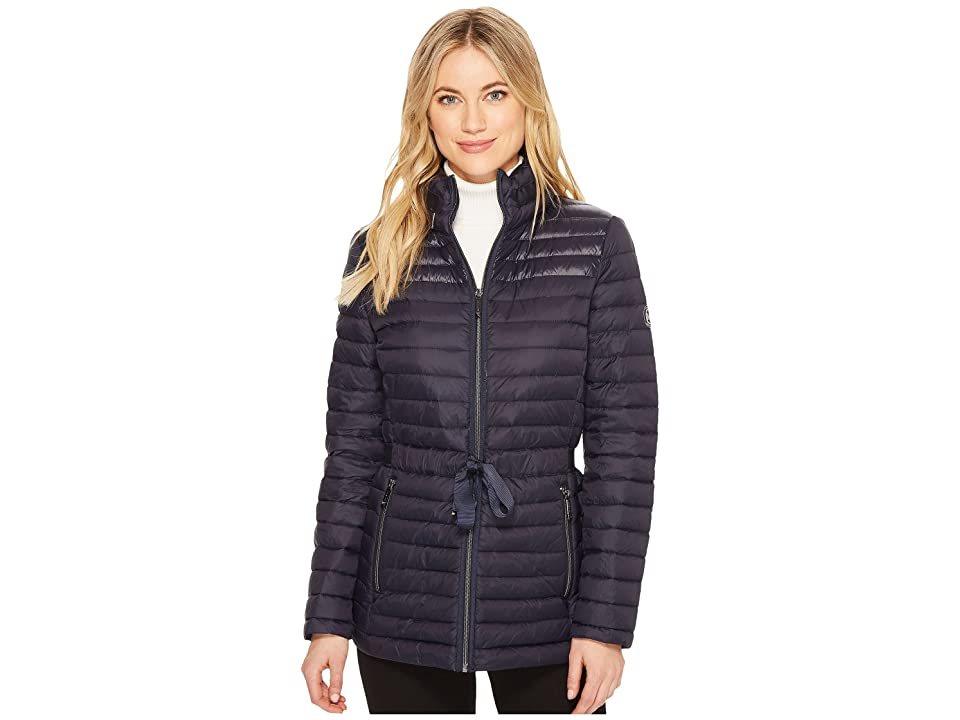 MICHAEL Michael Kors Zip Front Packable with Grosgrain Trim M822887C (Navy) Women