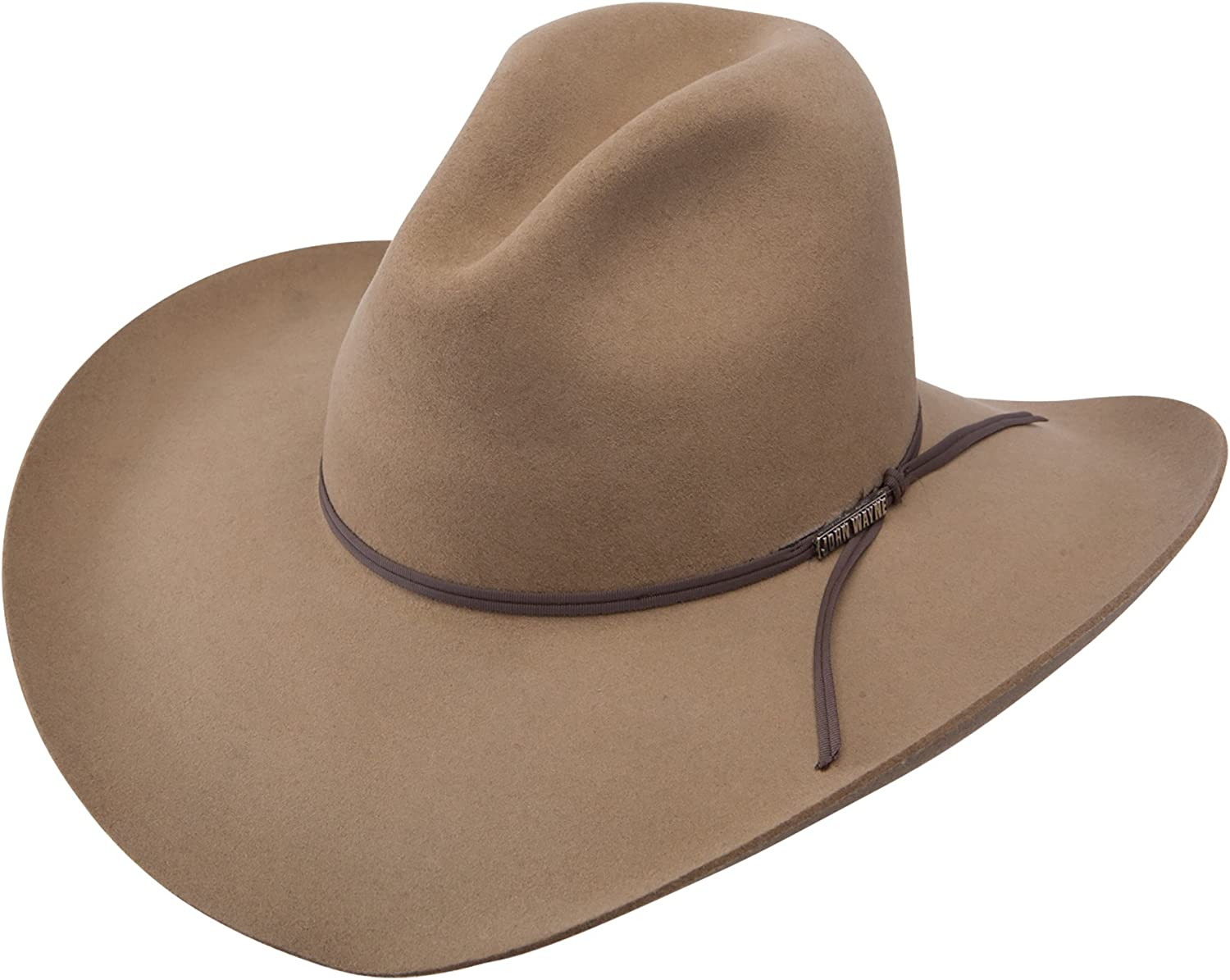 Stetson John Super popular specialty store Wayne Peacemaker - Wool Cowboy Hat 4X Opening large release sale