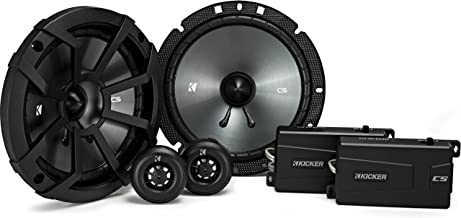 Kicker 43CSS674 CSS67 6.75-Inch Component System with .75-Inch tweeters, 4-Ohm