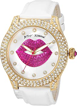 Betsey Johnson - BJ00019-72 - Crystal Lips Strap