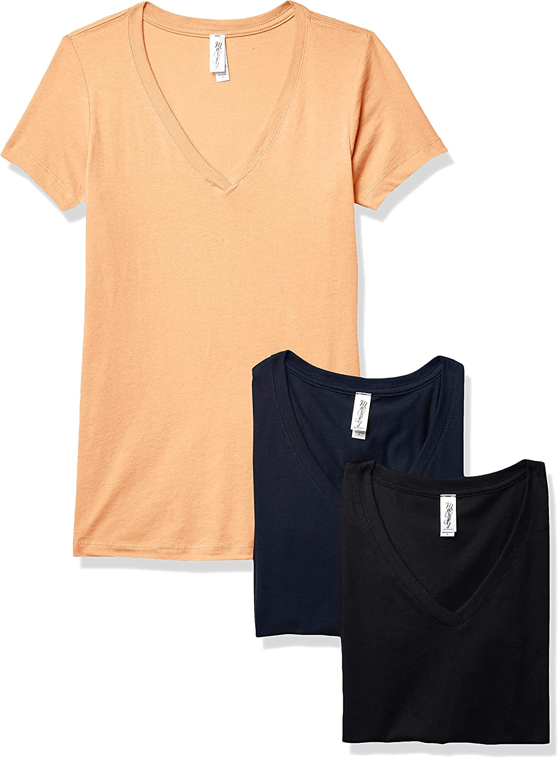 Marky G Apparel shopping Women's Ideal Short Sleeve Tees V-Neck T-Shirt Our shop OFFers the best service