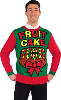 fruit cake christmas sweater