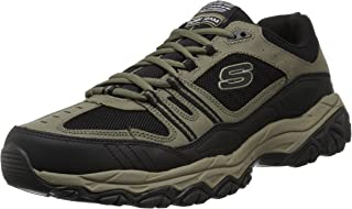 Skechers Sport Men's Afterburn Strike Memory Foam Lace-Up Sneaker