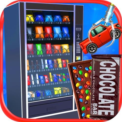 Real Vending Machine Simulator - Kids Snack Machines & School Lunch Food Maker Games FREE