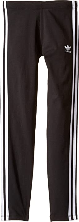 adidas Originals Kids - Everyday Iconics 3-Stripes Leggings (Little Kids/Big Kids)