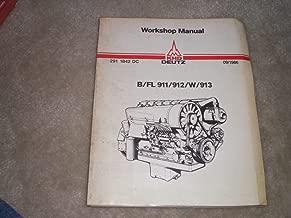 workshop manual for deutz air-cooled diesel engines B/FL 911/912/W/913