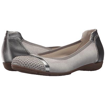 Gabor Gabor 84.167 (Silver Velour/Luxor Metallic) Women