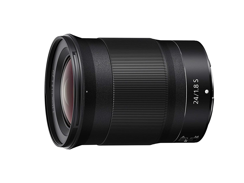 NIKON NIKKOR Z 24mm f/1.8 S Wide Angle Fast Prime Lens