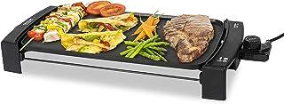 Cecotec Plancha électrique Black&Water 2500, Revêtement anti-adhérent, Plateau ramasse-graisses, Température réglable, Con...