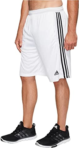 Big & Tall Designed-2-Move 3-Stripes Shorts
