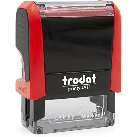 Trodat Clothing Stamp, Personalized with Your Name - Customize Online