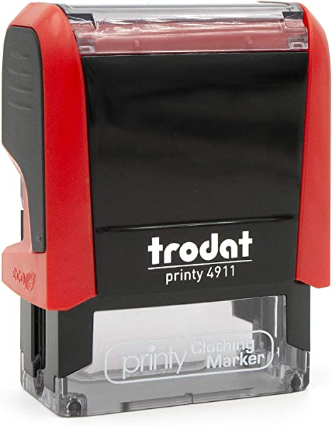 Trodat Clothing Stamp Personalized With Your Name Customize Online