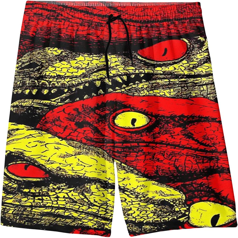 Bhrose Dinosaur Mens Swim Trunks 3D Swimwear Cas Dry Quick Finally resale start Many popular brands Print
