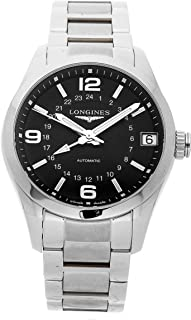 Longines Conquest Mechanical (Automatic) Black Dial Mens Watch L27994566 (Certified Pre-Owned)