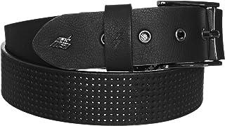 Lowlife Men's Clyde Belt Small Textured Black