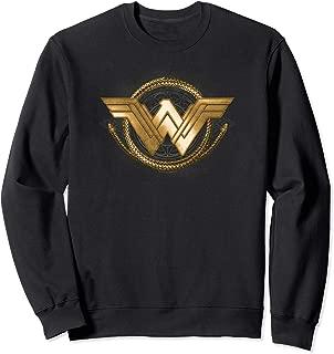 Wonder Woman Movie Golden Lasso Logo Sweatshirt