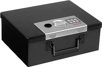Honeywell Safes & Door Locks - 6108 Fire Resistant Steel Security Safe Box with Digital Lock, 0.26-Cubic Feet, Black