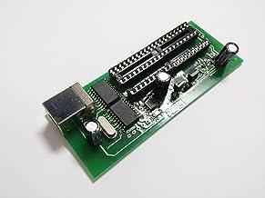 ETETRON Programmatore USB x PIC Microchip ed EEPROM EEPROM Famiglia 24Cxx, 24C02, 24C16, etc. (ludipipo, JDM)