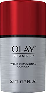 Wrinkle Cream by Olay Regenerist Anti-Aging Wrinkle Revolution Complex Moisturizer Plus Primer, 50 mL
