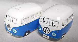 funshopping Camper Van Salt And Pepper Sets Gifts Ceramic Blue