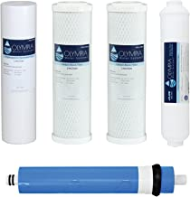 Olympia Water Systems 50GPD 5-Stage Complete Replacement Filter Set for Reverse Osmosis System - OWS45