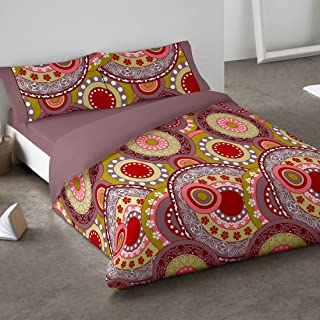 Burrito Blanco - Funda nórdica 081 Coral de cama de 90x190/200 cm
