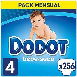 comprar comparacion Dodot Bebé-Seco - Pañales Talla 4 (9-14 kg), 256 Pañales, El Unico Pañal Con Canales De Aire