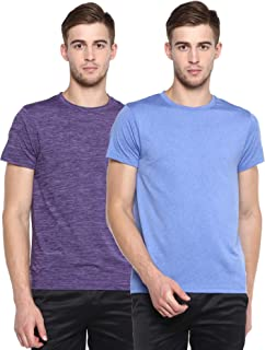 Men's Sports Crew Neck T-Shirt Pack of 2 tees