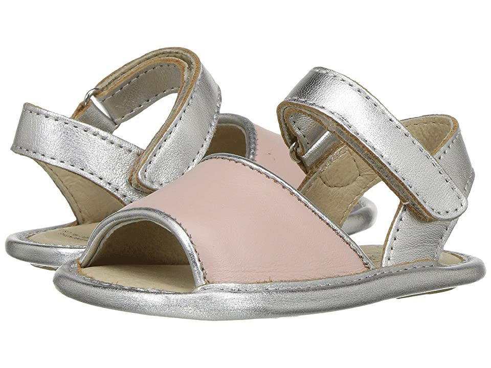 Old Soles Bambini Amalfi (Infant/Toddler) (Powder Pink/Silver) Girls Shoes