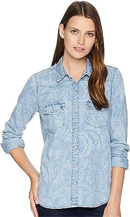 Paisley Western Shirt
