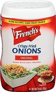 French's Crispy Fried Onions, Original, 2.8 oz